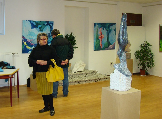 Vernissage Expo Gashi in Himberg